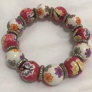 NWOT Angela Moore butterflies bracelet